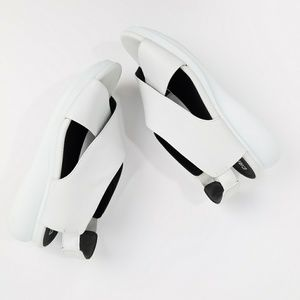 Camper Balloon White Leather Sandals